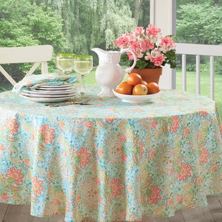 Dena Home Zahara Floral Tablecloth