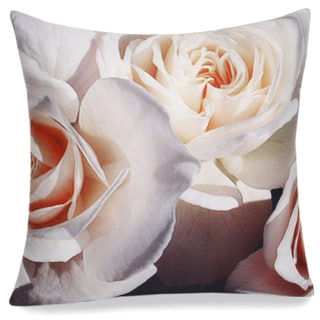 Jovi Home Rose Printed 16-inch Decorative Pillow Cover