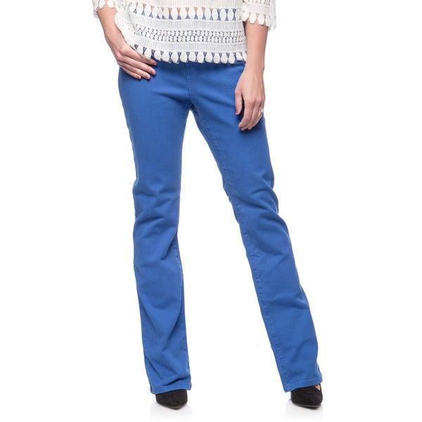 Andrew Charles Women's Cobalt Blue Boot-cut Pants Size 31