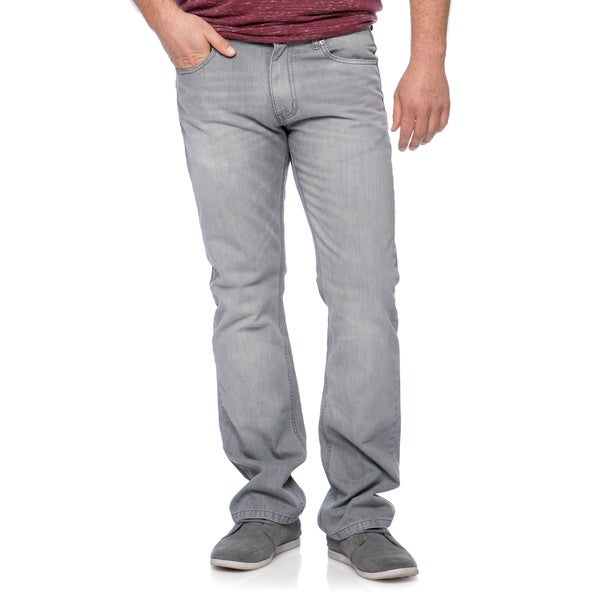 Riff Stars Men's Light Grey Denim Jeans