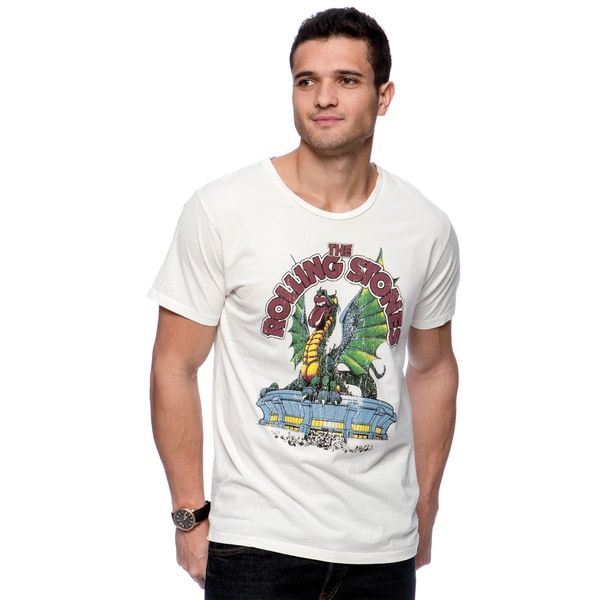 Riff Stars Men's Rolling Stones Stadium Dragon T-shirt