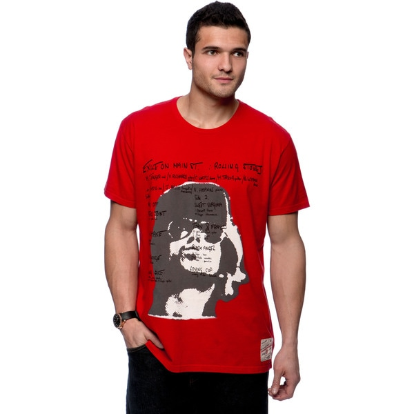 Riff Stars Men's Red Exile the Guys T-shirt