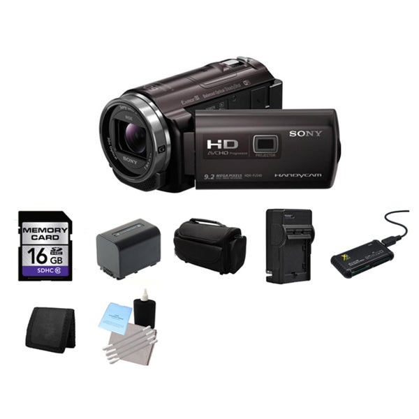 Sony PJ540 HD Camcorder 16GB Bundle