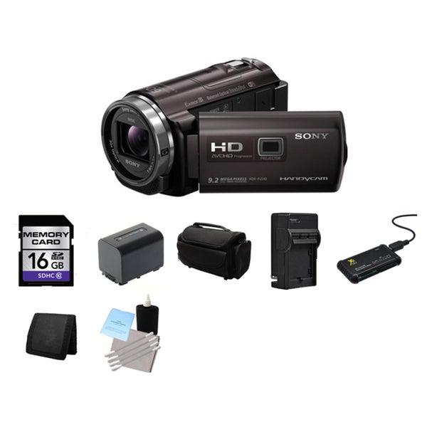 Sony PJ540 HD Camcorder 16GB Bundle