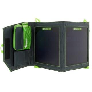 GearIT 5.6-watt Portable Folding Outdoor Solar Panel USB Device Charger