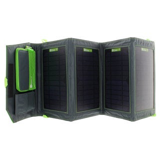 GearIT 14-watt Portable Folding Outdoor Solar Panel USB Device Charger