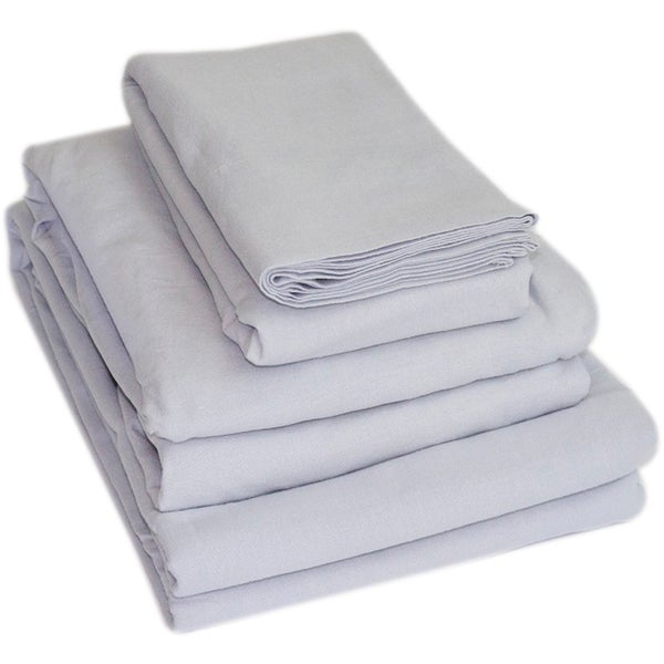 Natural Living Linen Sheet Set