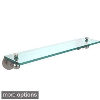 Single Glass/ Metal Wall Shelf