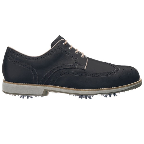 FootJoy Men's FJ City Black/Mocha Golf Shoes