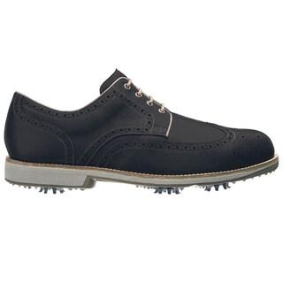 FootJoy Men's FJ City Black/Mocha Golf Shoes