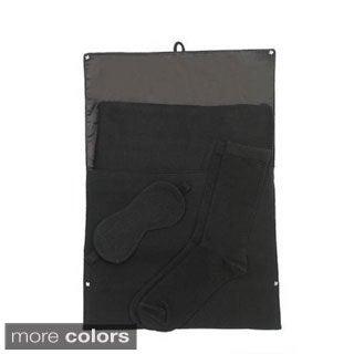 Cashmere Blanket Travel Set