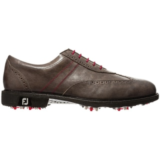 FootJoy Men's Icon Wing Tip Grey Golf Shoes