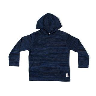 Something Strong Boys Pullover Hoodie in Dark Blue