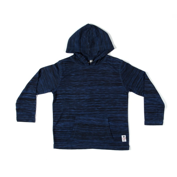 Something Strong Boys Pullover Hoodie in Dark Blue