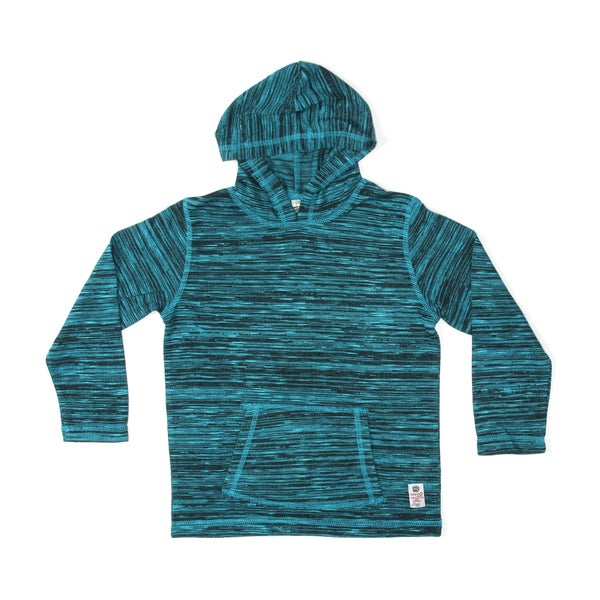 Something Strong Boys Pullover Hoodie in Medium Blue