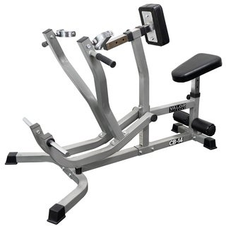 Valor Fitness CB-14 Plate Loaded Leverage Seated Row and Chest Pull Machine