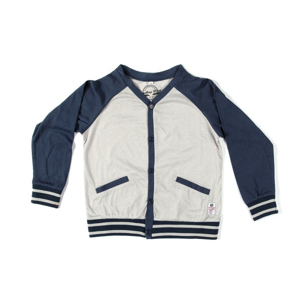 Something Strong Boys Raglan Cut Cardigan
