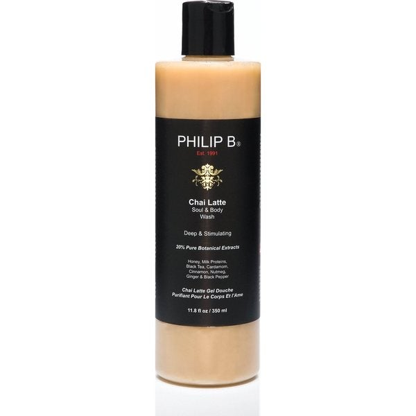 Philip B Chai Latte 11.8-ounce Soul & Body Wash