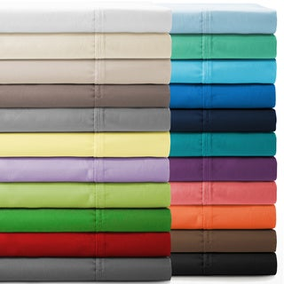 Premium Ultra-Soft Microfiber Hypoallergenic, Easy Care, Wrinkle Resistant Sheet Set