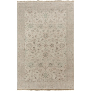 Candice Olson : Hand-Knotted Trevor Border Indoor Rug (3'3 x 5'3)