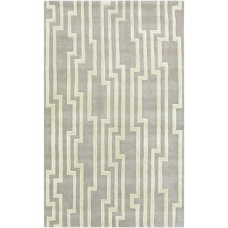 Candice Olson : Hand-Tufted Paxton Geometric Indoor Rug (9' x 13')