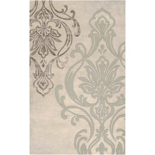 Candice Olson : Hand-Tufted Noreen Floral Indoor Rug (9' x 13')