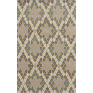 Angelo Surmelis : Hand-Tufted Abril Geometric Wool Rug (8' x 11')