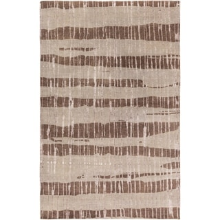 Candice Olson : Hand-Knotted Teviot Stipe Indoor Rug (5' x 8')