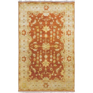 Candice Olson : Hand-Knotted Trisha Border Indoor Rug (3'3 x 5'3)
