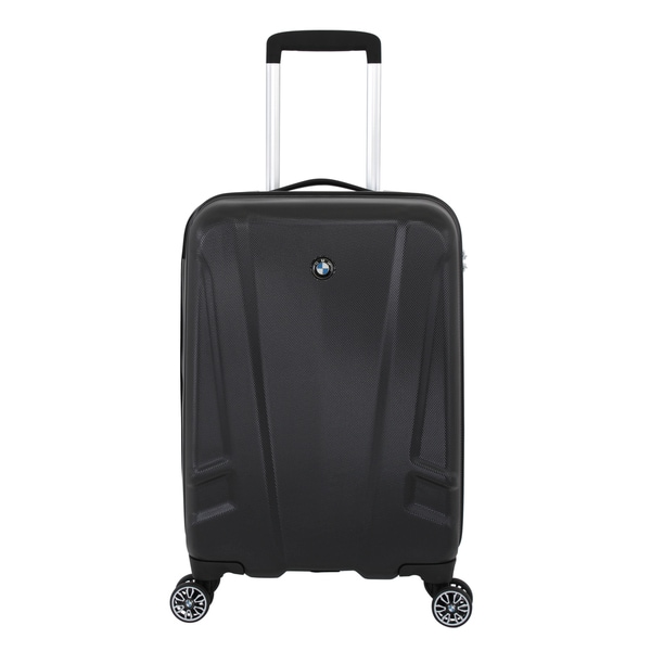 BMW Black 19-inch Hardside Carry On Spinner Upright Suitcase