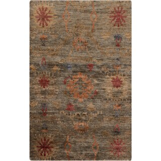 Hand-Knotted Tess Ikat Jute Rug (8' x 11')