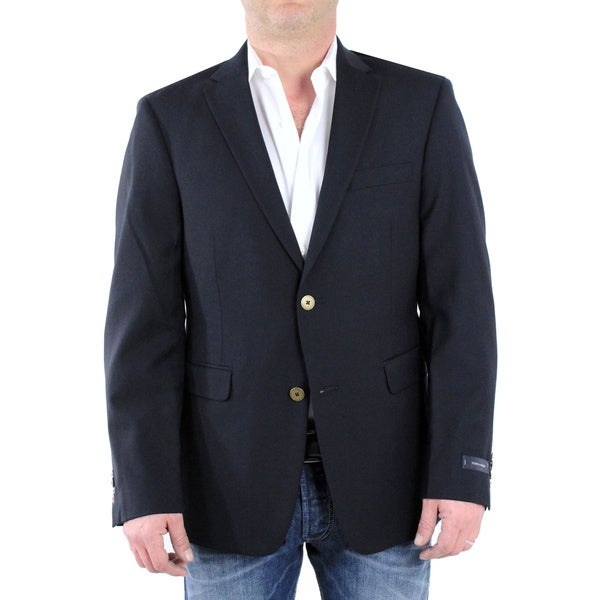 Tommy Hilfiger Men's Navy Slim Fit Blazer
