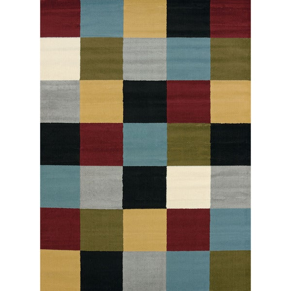 Nellie Multi-color Area Rug (5'3 x 7'2)