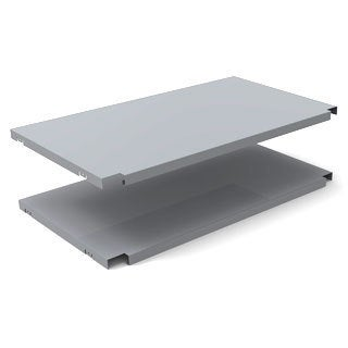NewAge Products Grey Performance Locker Shelf Kit (2 Pack)