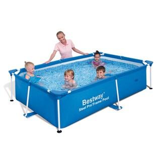 Bestway Rectangular Deluxe Splash Frame Pool