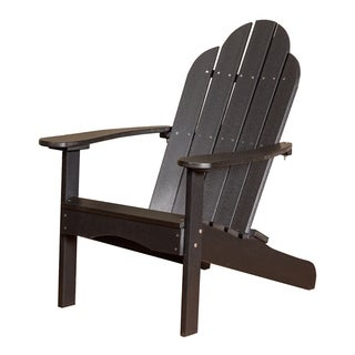 Somette Terra Poly Lumber Outdoor Adirondack Chair