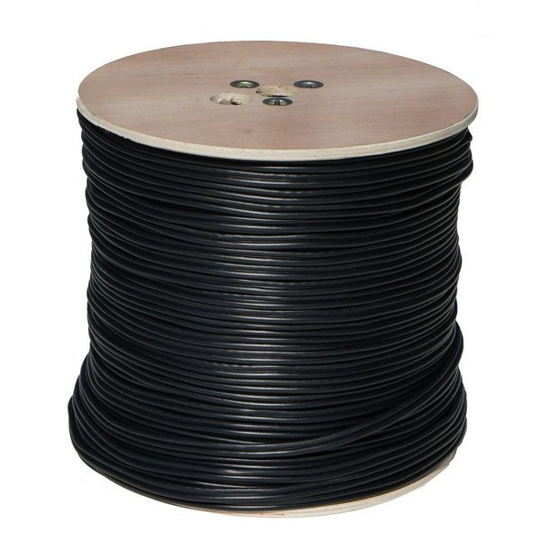 SPT Security 1,000-foot Black RG59 Coaxial Power Cable