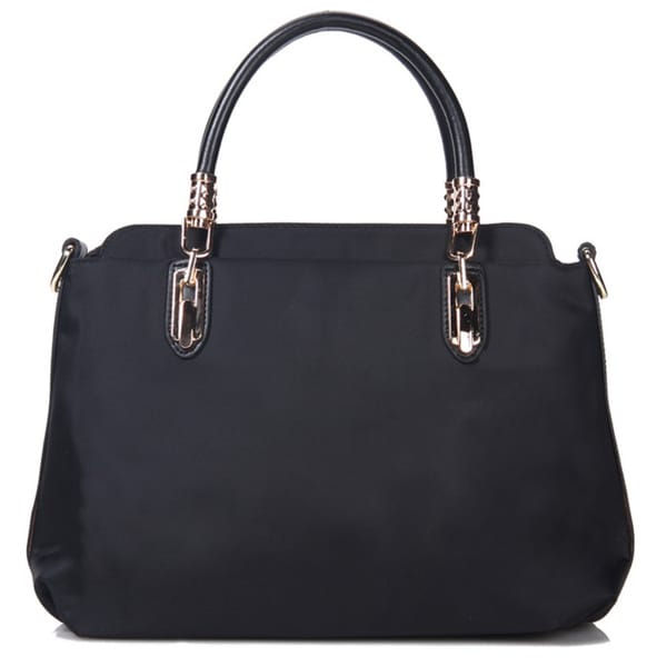 Bowler Faux Leather Handbag