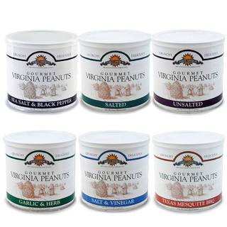 Purely American Homestyle Virginia Peanuts Sampler (Set of 6)