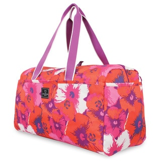 French West Indies 21-inch Soft Carry On Fashion Flower Duffel Bag