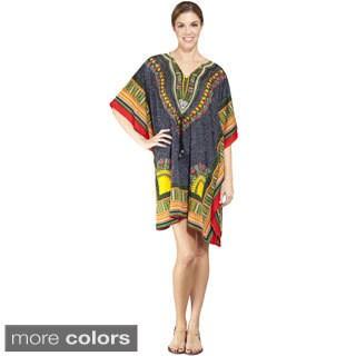 Women's Colorful Dashiki Beach Dress (India)