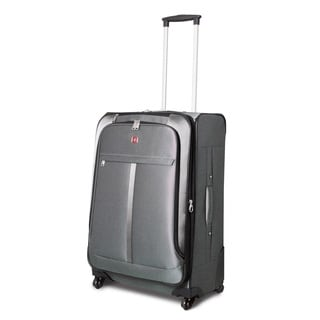 SwissAlps 20-inch Carry On Upright Spinner Suitcase