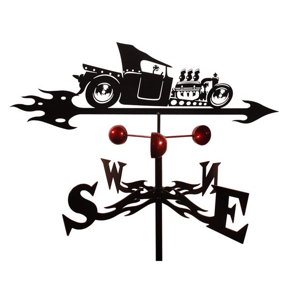 T-Bucket Rat Rod Weathervane
