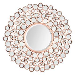 Renwil Celeste II Round Glass Mirror