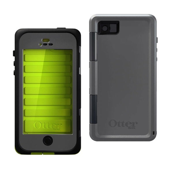 OtterBox Armor Series Neon Green Waterproof Case for iPhone 5