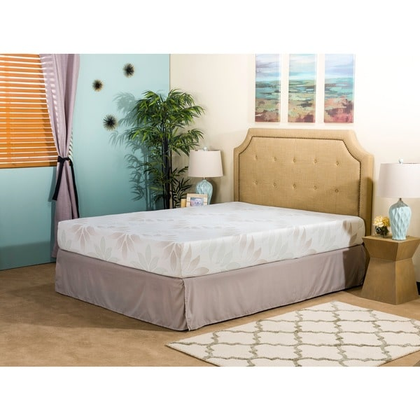 Dream Pro Recharge Lunair Queen Size Gel Memory Foam Mattress