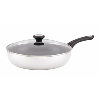 Farberware New Traditions Aluminum Nonstick 12-inch Covered Skillet