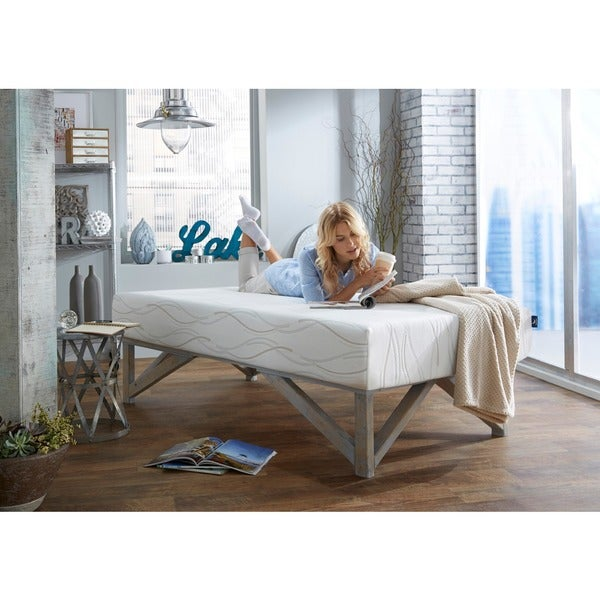 Dream Pro Restore Lunair Twin Size Gel Memory Foam Mattress