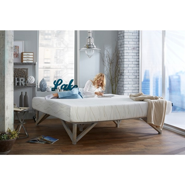 Dream Pro Restore Lunair California King Size Gel Memory Foam Mattress