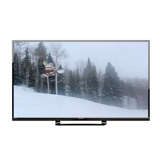 Sharp LC55LE643U Aquos 55-inch 1080p 120Hz LED HDTV with Roku Streaming Stick (Refurbished)